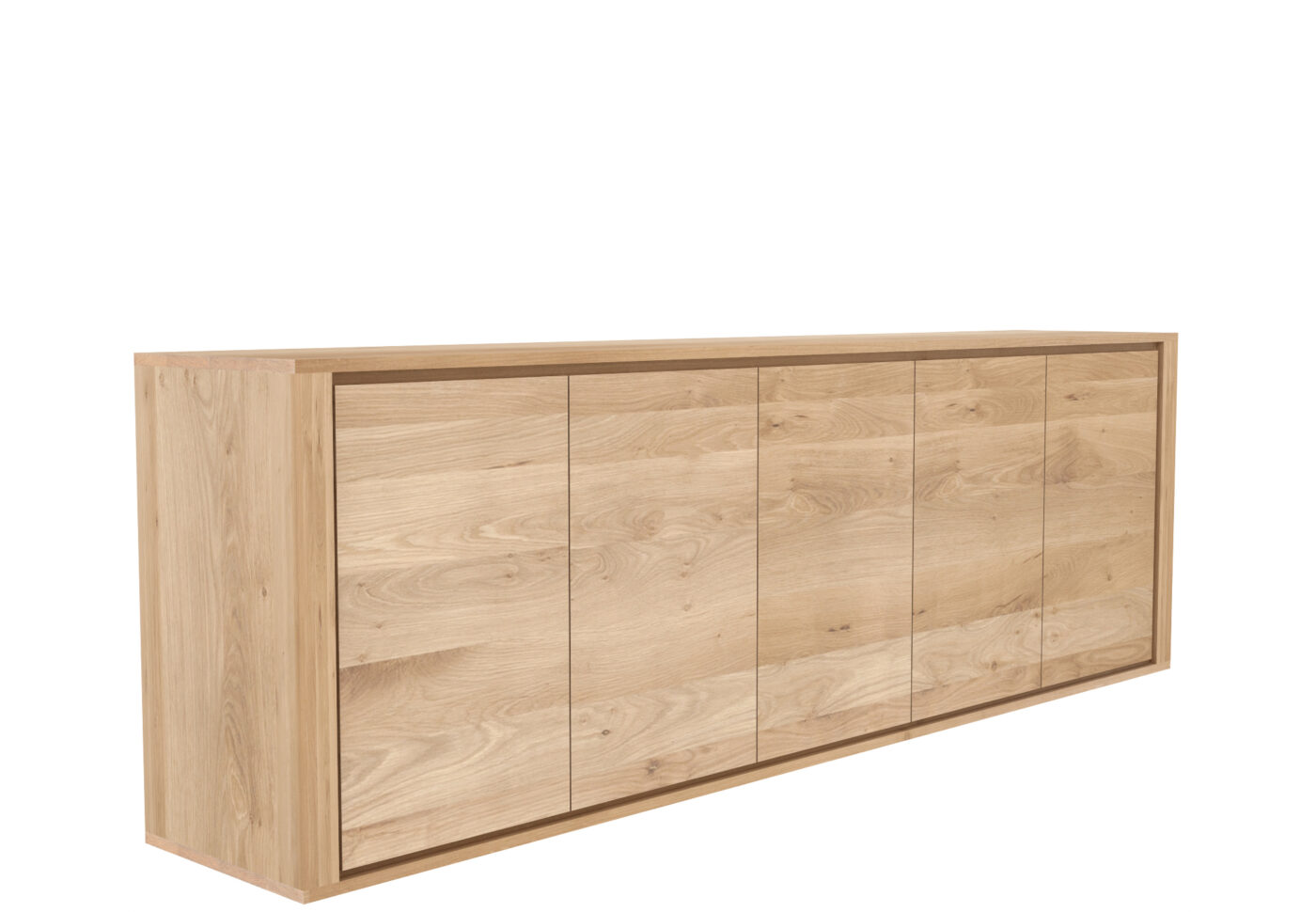 51373 Oak Shadow sideboard 5 doors p