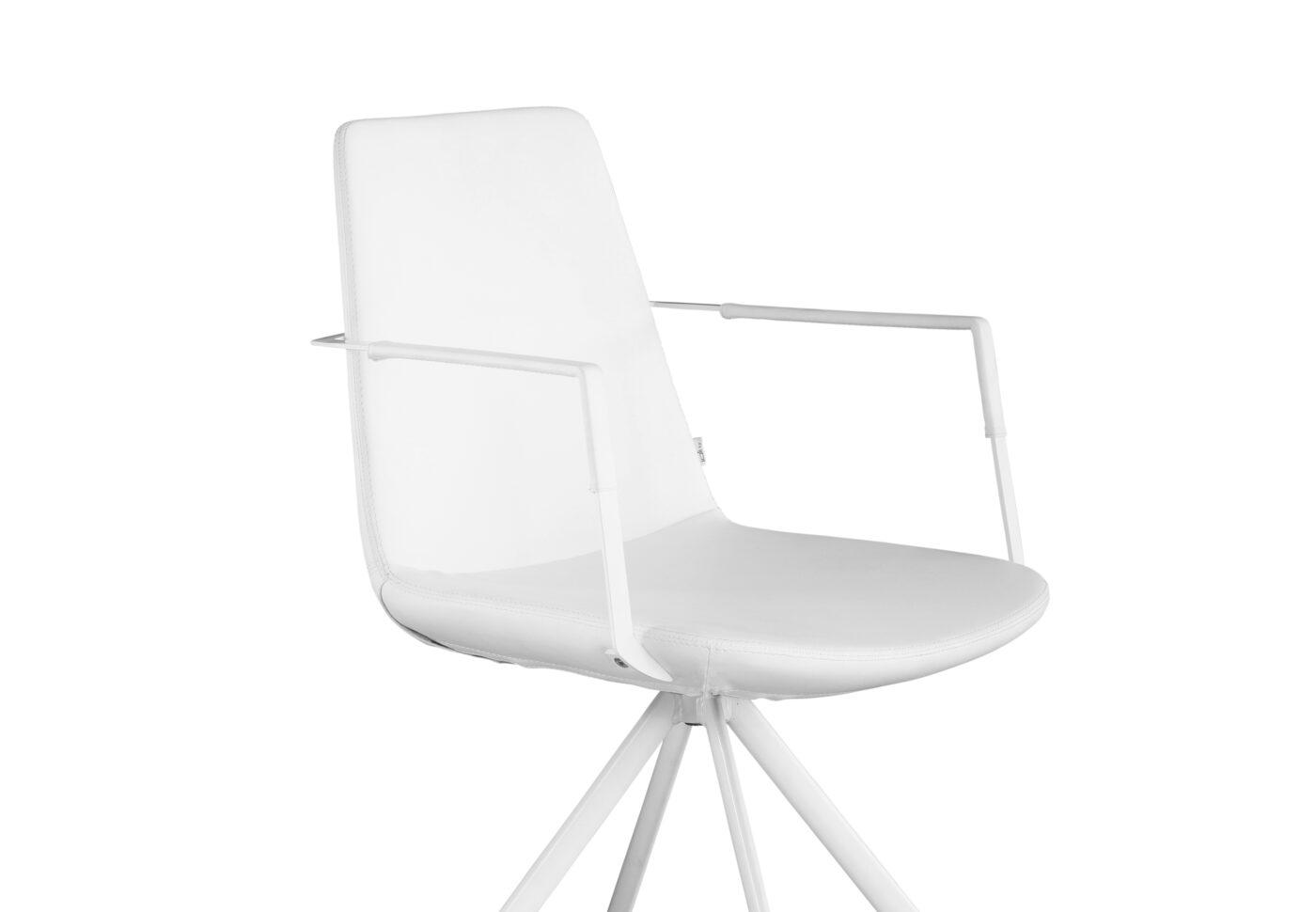 Rafael armchair white