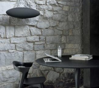50012 Oak black Torsion dining table 51491 Oak black Bok dining chair