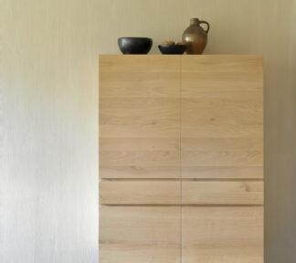 51117 Oak Ligna storage cupboard WEB