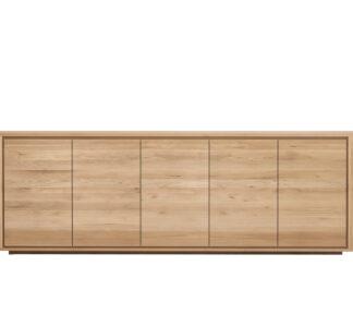 51373 Oak Shadow sideboard 5 doors f
