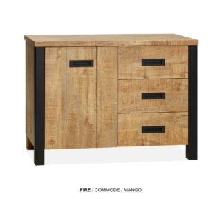 Fire commode