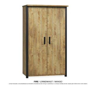 Fire linnenkast 2 deurs