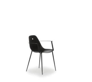 Marguerite armchair black