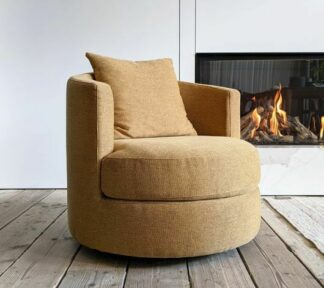 Oval fauteuil