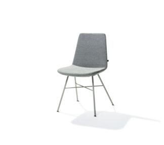 Rafael X Base Chair Grey