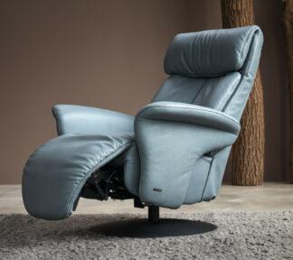 Himolla 7627 EASYSWING Sessel 24 Long Ru azuro Detail 03k