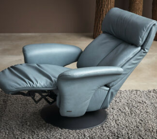 Himolla 7627 EASYSWING Sessel 24 Long Ru azuro Detail 07k