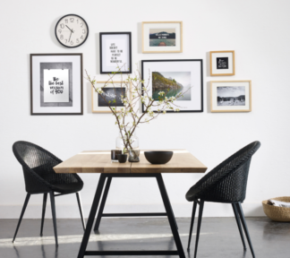 W800h1000zc Z Cq85 Vincent Sheppard Albert dining table A base Jack dining chair steel A base