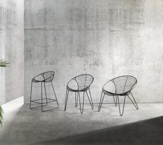 Wire stoelen familie